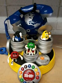 M&M's redial flash rotary telephone Las Vegas, 89102