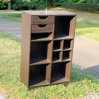 bookshelf ideal for mail and stuff