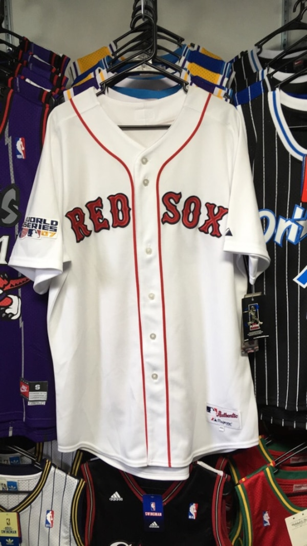a57af70c1 Used 100% AUTHENTIC BOSTON RED SOX WORLD SERIES 2007