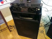 black and gray guitar amplifier Winnipeg, R3B 2W8