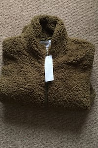 New Urban Outfitters teddy jacket