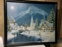Church w/ Mountains Puzzle Picture  Stafford, 22556