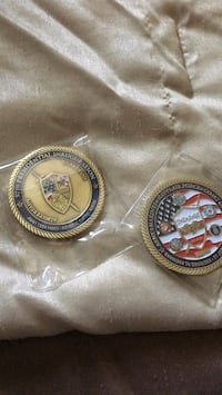 JTF NCR 57th Presidential Inauguration Coins (one is a misprint) Woodbridge, 22192