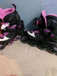 pair of black-and-pink inline skates Buffalo, 14224