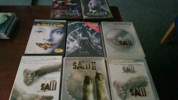 Horror movies dvds