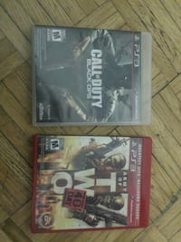 two Sony PS3 game cases Calgary, T2B 2C7