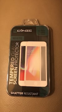 White Bordered IPhone 6/7/8 Plus Tempered Glass Screen Protector Waterloo, N2K 4A5