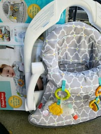 baby's white and gray bouncer Eastpointe, 48021