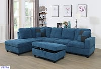 Pick Up Beverly Fine Furniture SH122A F122A Left Facing Russes Sectional Sofa Set Ottoman You need to see this - Gorgeous - New - SCOTTSDALE