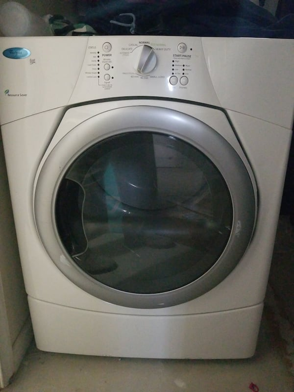 Washing Machine & Dryer. Looks Great Works Great. Free Stacking kit e12b4ff7-a45e-4007-832e-987727dcf34c