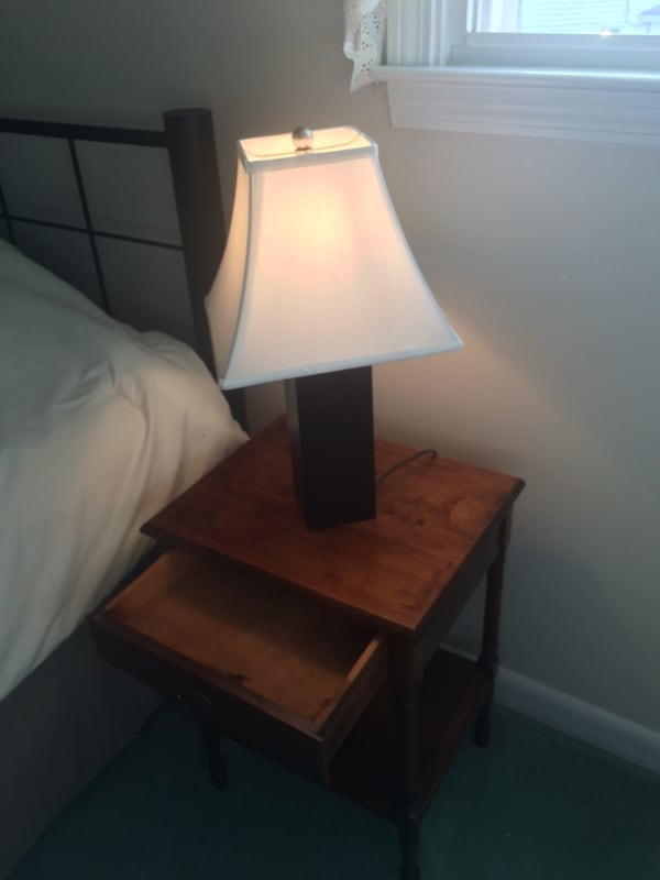 Nightstand and lamp 2