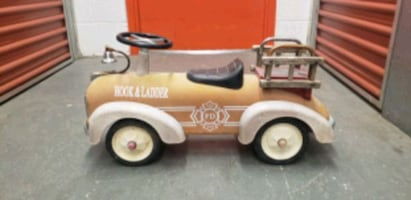 VERY RARE HOOK AND LADDER RIDE ON CAR