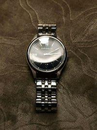 Black Face Caravelle watch