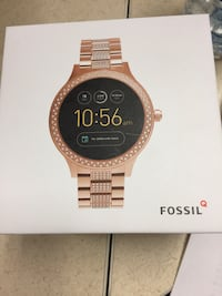 Fossil Generation 3 Smart Watch RoseGold BLING