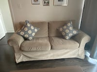 IKEA LOVESEAT. Covers are replaceable. Mississauga, L4Z 0B8