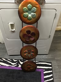 four assorted-colored floral wall accents Wilmot, N3A 4N1