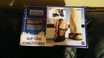 NIB Blizzard Basics Size L Slip On Slip Grips
