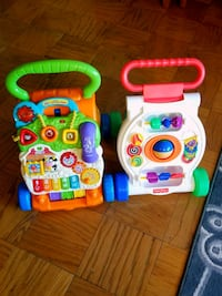 Vtech and Fisher price learning walker Falls Church, 22042