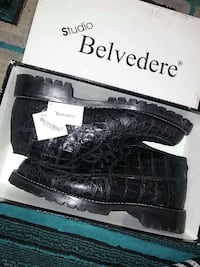 Black studio belvedere shoes in box Inglewood, 90301