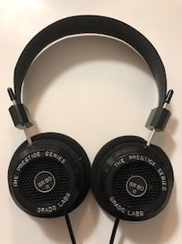 Black and gray grado  headphones Vancouver, V6E 2E5