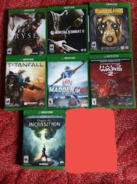 Xbox one games Saint Albans, 25177