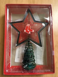New Red Sox Lighted Tree Topper-Norton area pickup