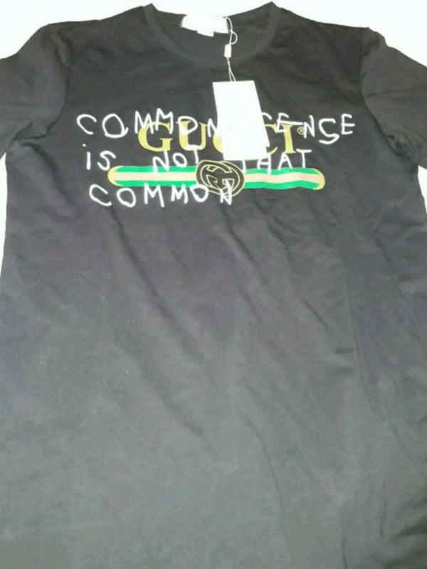 fe6ae1de Used Gucci t -shirt common sense is not that common for sale in ...