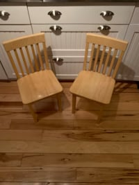 Two KidKraft high quality children's chairs $25.00 each. Compare new at $49.00 each. Like new condition   Chelmsford, 01824
