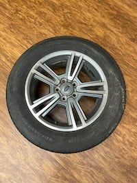 "Great condition 17"" Mustang wheels & Tires"