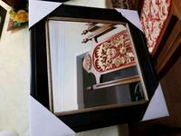 Fancy mirror with chocolate wood frame  Vaughan, L4J
