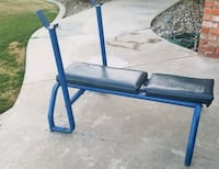 Weight bench with weights  Bakersfield, 93306