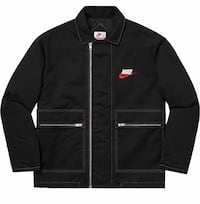Supreme x Nike Double Zip Quilted Work Jacket New Black (size M) - DS Richmond, V6V 0A9