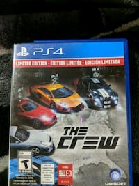 The Crew PS4 game  Calgary, T3J 2Y8