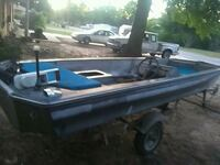 16 ft boat with trailer Milton, 32571