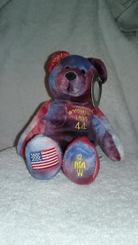 Collectible Wyoming Timeless Toys Beanie Baby Rocklin