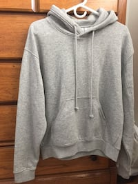 gray pull-over hoodie Vancouver, V5R