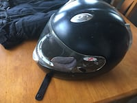 black JoeRocket motorcycle helmet GLENDALE