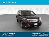 2016 *Honda* *Pilot* Touring Sport Utility 4D suv Dk. Red Brentwood