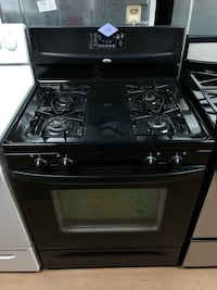Whirlpool black gas stove  Woodbridge, 22191