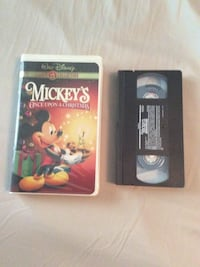 mickey's once upon christmas vhs tapes 276 mi