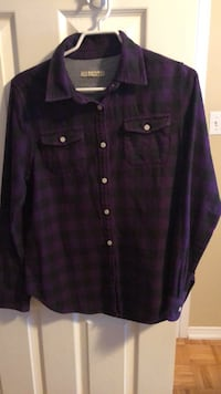 black button-up long-sleeved shirt Guelph, N1L 1T4