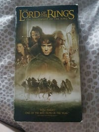 Lord of the Rings VHS movie Toronto, M3M 2B2
