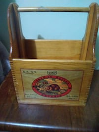Vintage butter box dovetail
