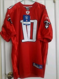 Titans! Rare VTG Reebok RED #10 Young Stitched jsy