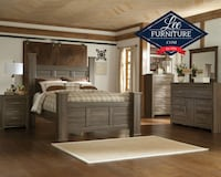 Queen Poster Bed and Dresser/Mirror Only $713 Fayetteville, NC, USA