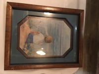 brown wooden framed painting of house Daly City, 94015