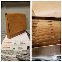 2 boxes Brand New 12 Pockets Expanding File Bowie