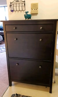 IKEA shoe cabinet with two compartments (shoe rack)