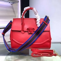 Versace Red Palazzo Empire Bag  Vaughan, L4L 1A7