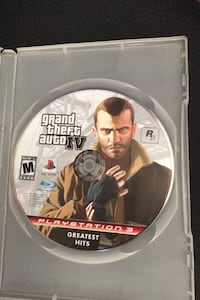 Grand Theft Auto IV ONLY PLAYED ON PLAYSTATION 3 Mississauga, L4Z 4H8